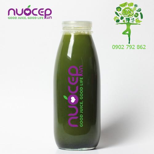 Thông tin sản phẩm nước ép xanh dinh dưỡng số 1